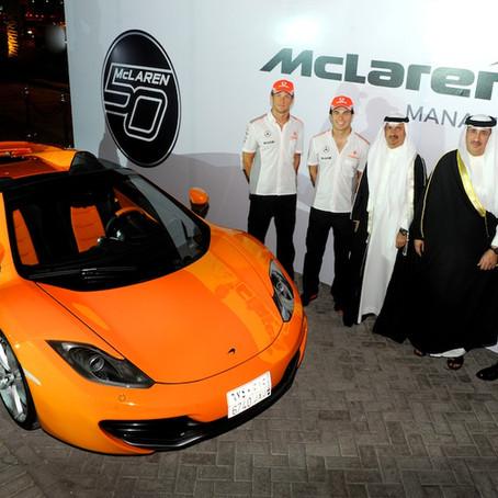 Saudi Arabia's Public Investment Fund Buys Stake In Mclaren