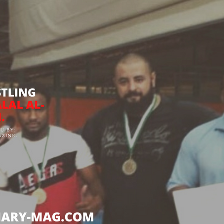 Saudi Wrestling Champion: Jalal Al-Omari.