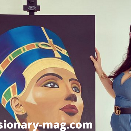 Dubai Based Painter Shahrzad, Is Getting Ready To Take The Art World By Storm.