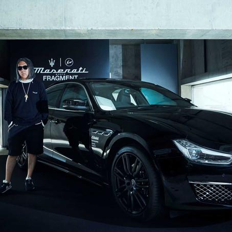 """Godfather of Streetwear"", Hiroshi Fujiwara collaborates with Luxury car Maker Maserati."