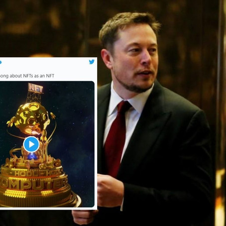 Elon Musk Has Just Put Out a Techno Track About NFTs in the Form of an NFT