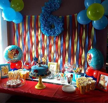 table festive, table bonbon, table dessert, décoration