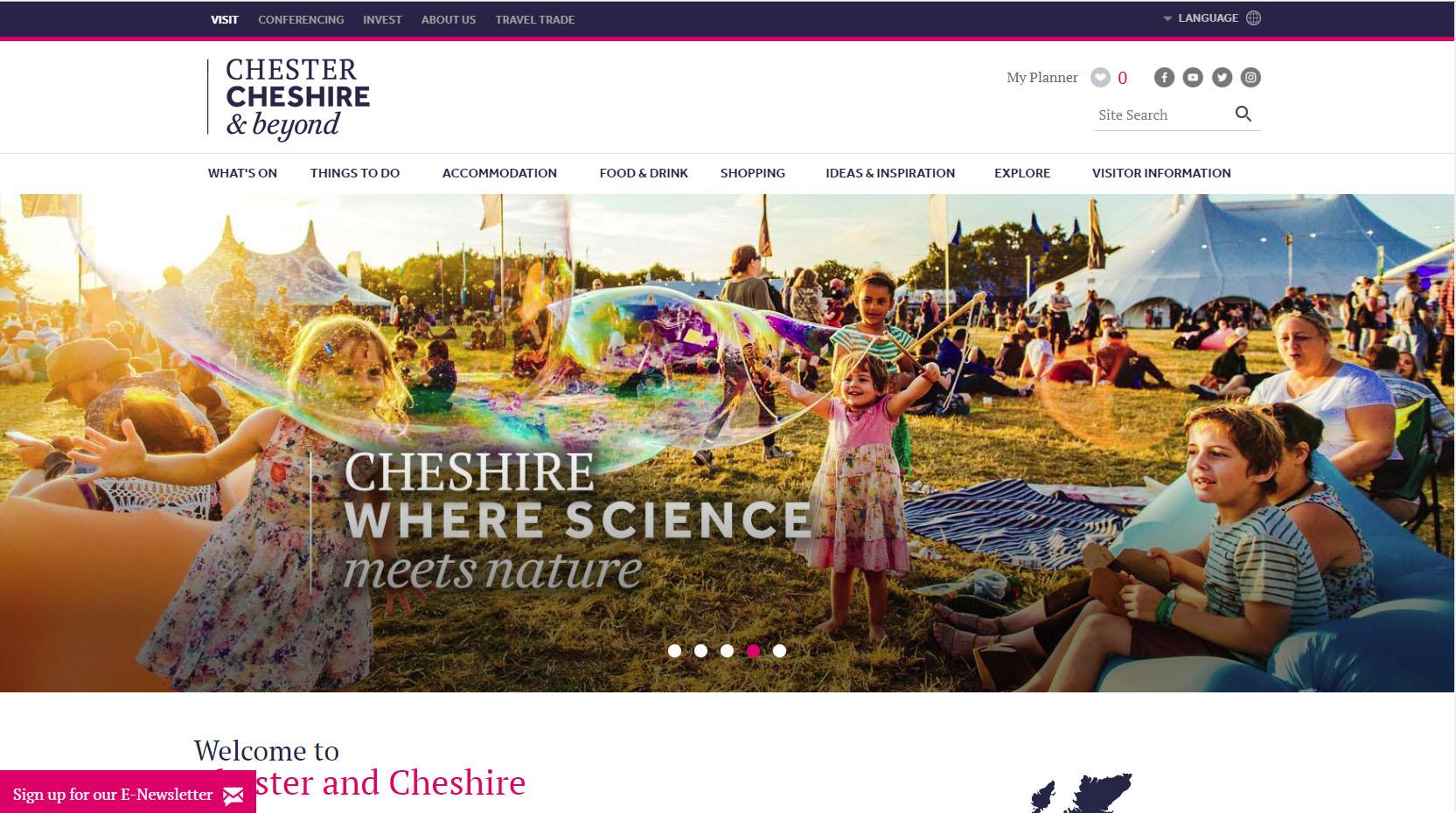 Visit Cheshire