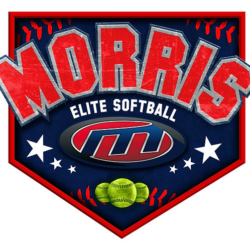 Morris Elite Softball Car Window Decal No Name