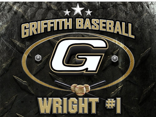 Griffith Baseball Yard Sign