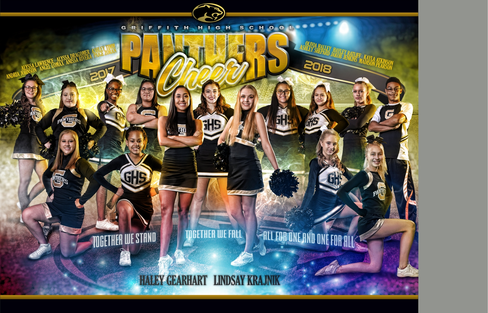 GRIFFITH CHEER TEAM POSTER FOR PRINT 2
