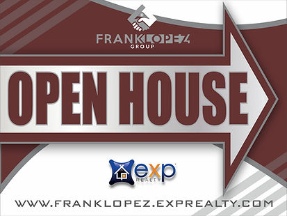 1-F LOPEZ REALTY OPEN HOUSE SIGN WHITE.j