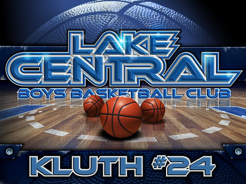 LC Boys Basketball Yard Sign