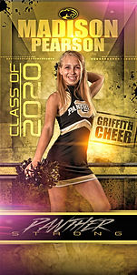 GRIFFITH CHEER LIGHT POLE BANNER 2019 2.
