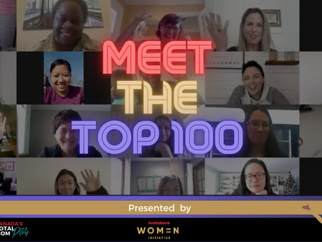 Announcing TOP 100 Canada's Total Mom Pitch