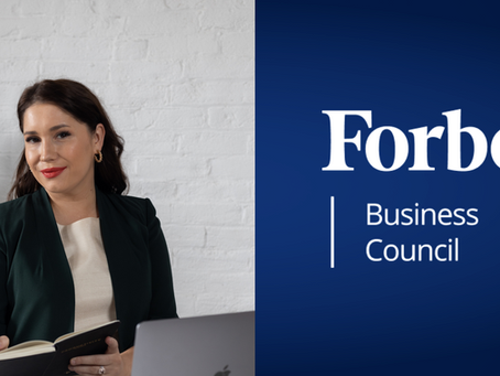Anna Sinclair accepted into Forbes Business Council