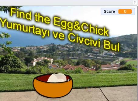 Scratch Game Find the Egg&Chick-Yumurta Bulma Oyunu
