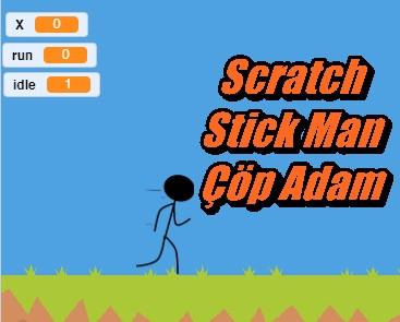 Scratch Stick Man Çöp Adam