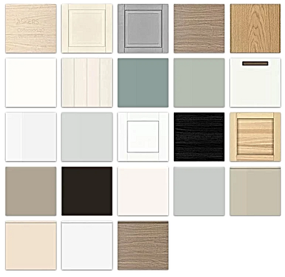 IKEA kitchen furniture 3D collection