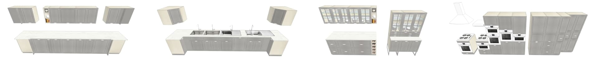 COLLECTION 3D IKEA BODBYN GRIS