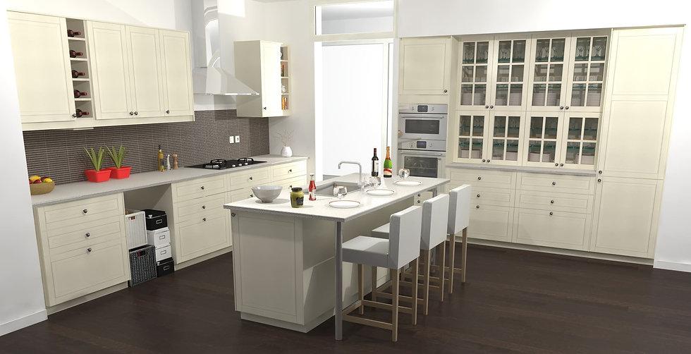 concevoir sa cuisine 3d dynamique agencement. Black Bedroom Furniture Sets. Home Design Ideas
