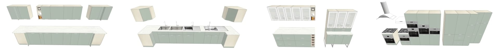 COLLECTION 3D IKEA KALLARP VERT CL