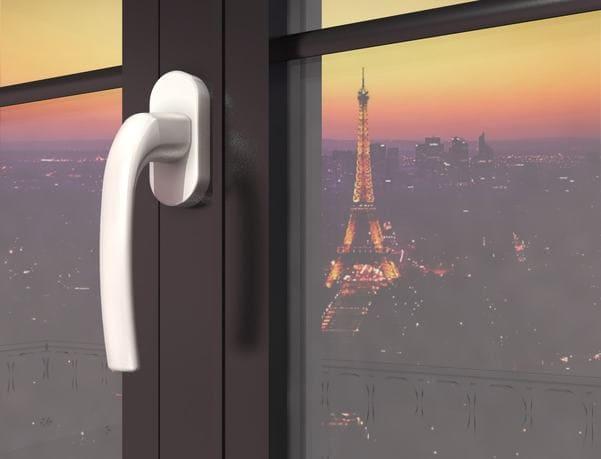 Porte-Fenêtre 3D à la Française Détail