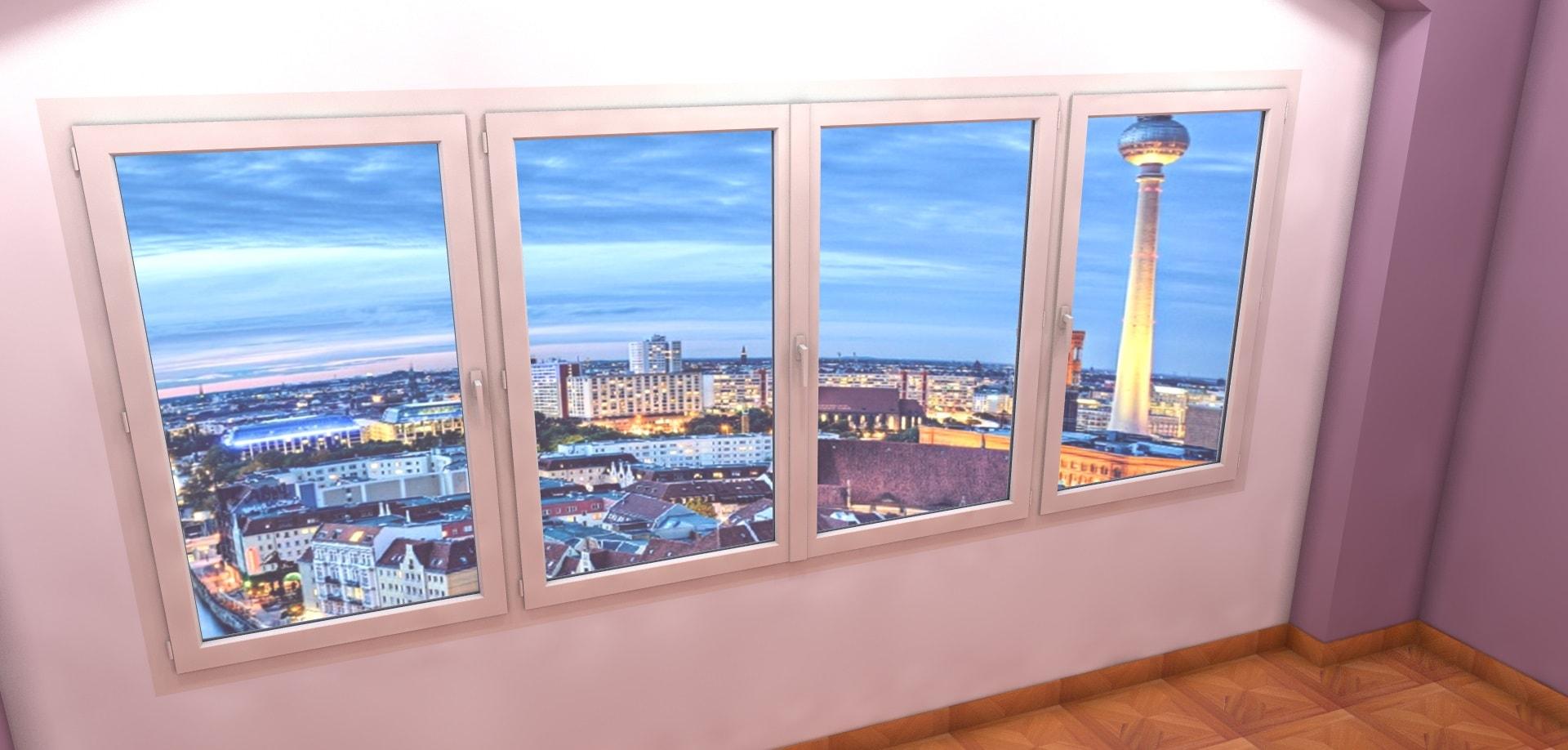 Fenêtre 3D à La Française