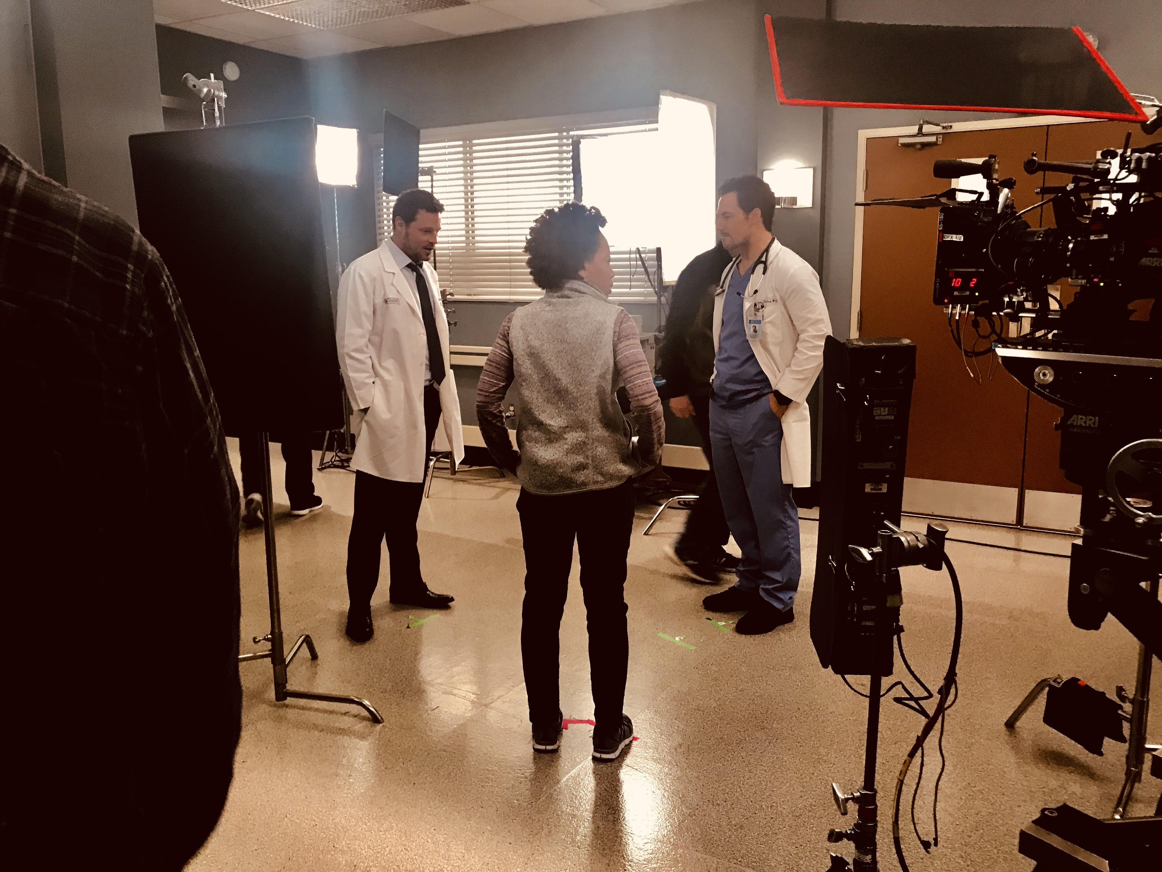Karev & Deluca Grey's Anatomy
