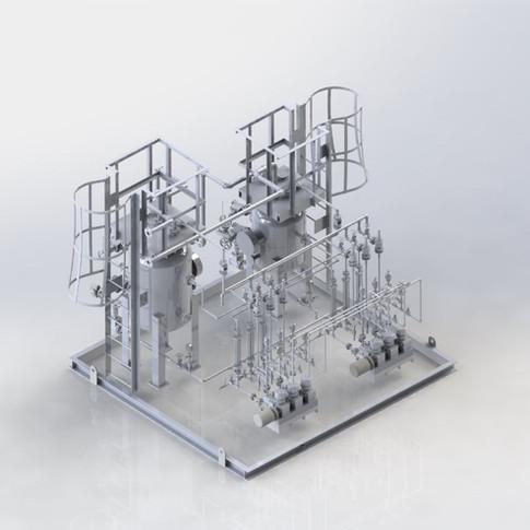 Triple Head Pump dosing System