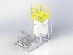 Six Head Pump Dosing System