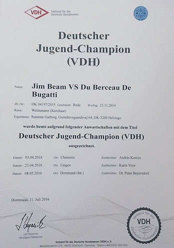 Jim Beam VS du Berceau de Bugatti
