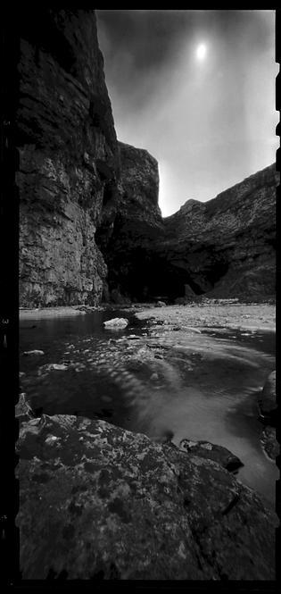 Smoo Cave Derness Scotland