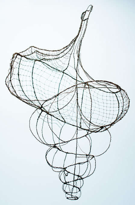 Large wire shell - 3D Drawing