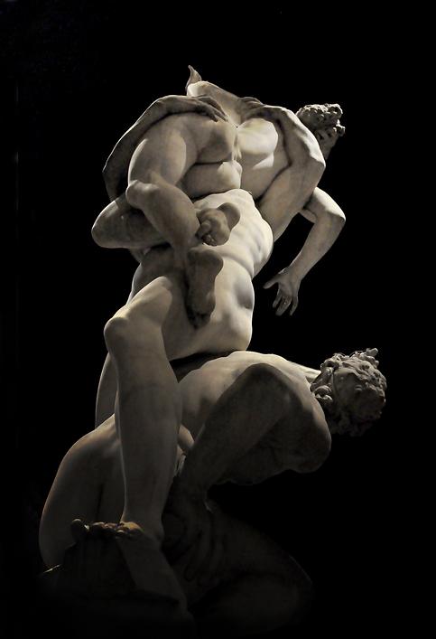 Giambologna - The Rape of Sabine Women,