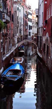 Venice red & Blue