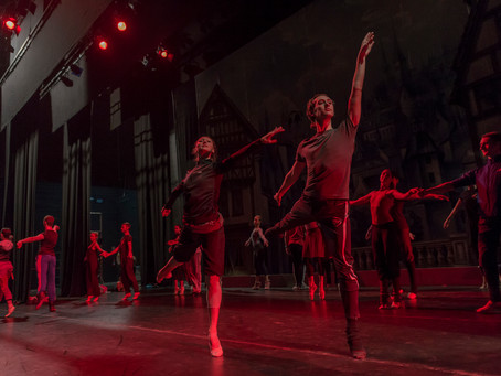 Preparativos Ballet Nacional Ruso