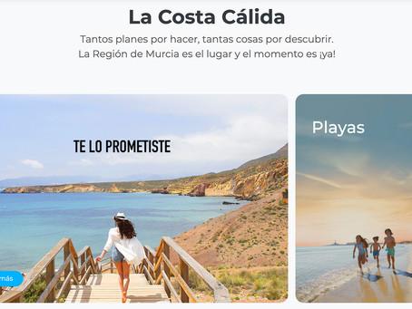 Participamos en la campaña de Murcia Turística