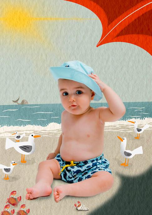 Ilustración con fotografía 2