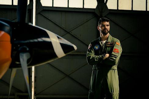 Fotografía de un piloto