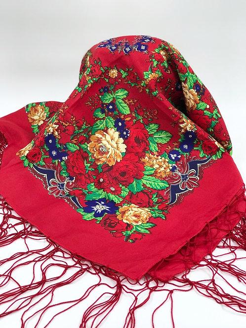 روسری قرمز