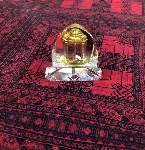 Sculpture en verre d'antiquités iraniennes