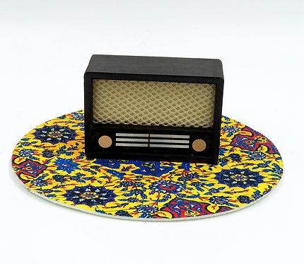 Maquette vieille radio