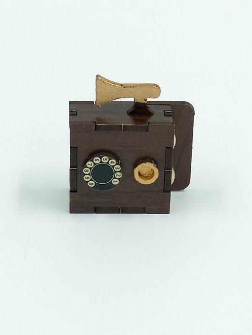 Maquette vieille téléphone