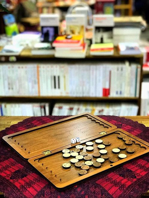 Backgammon miniature