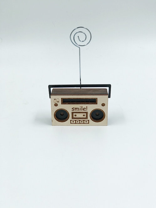 Clip photo radio