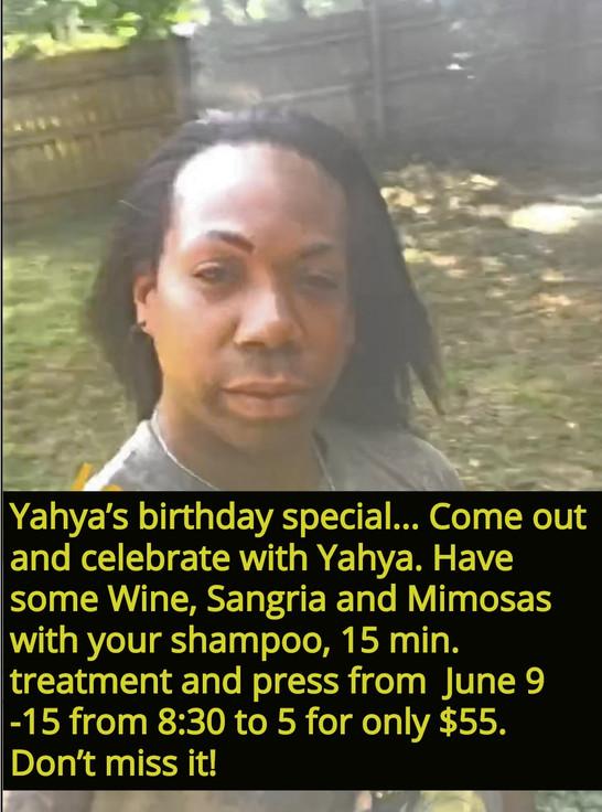 Yahya's Birthday Special
