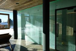 Crashglas Wand und Türen