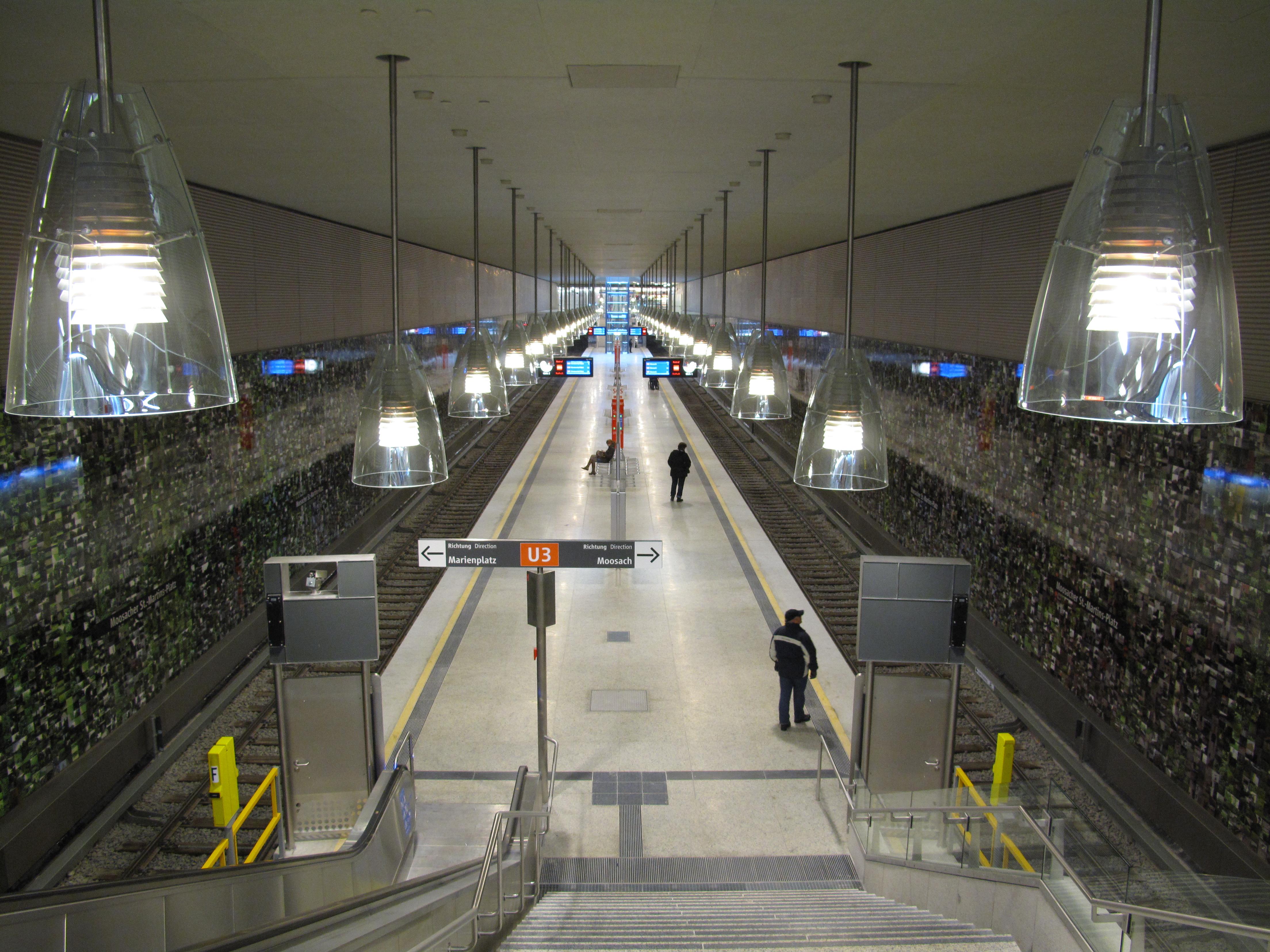 München U3 Martinsplatz