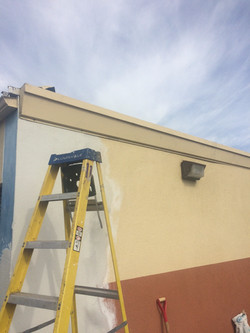 ESS-exterior repair and repaint