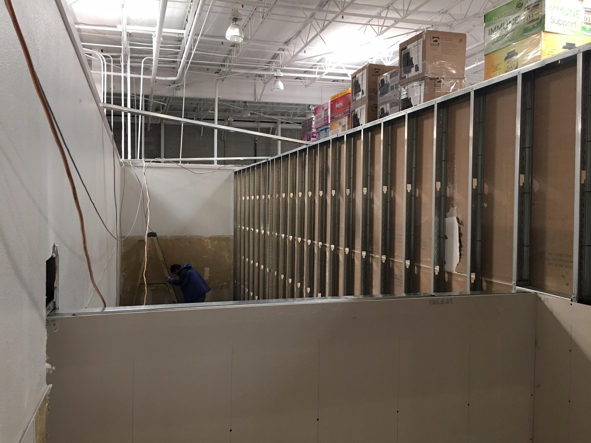 Costco-Floor remodel