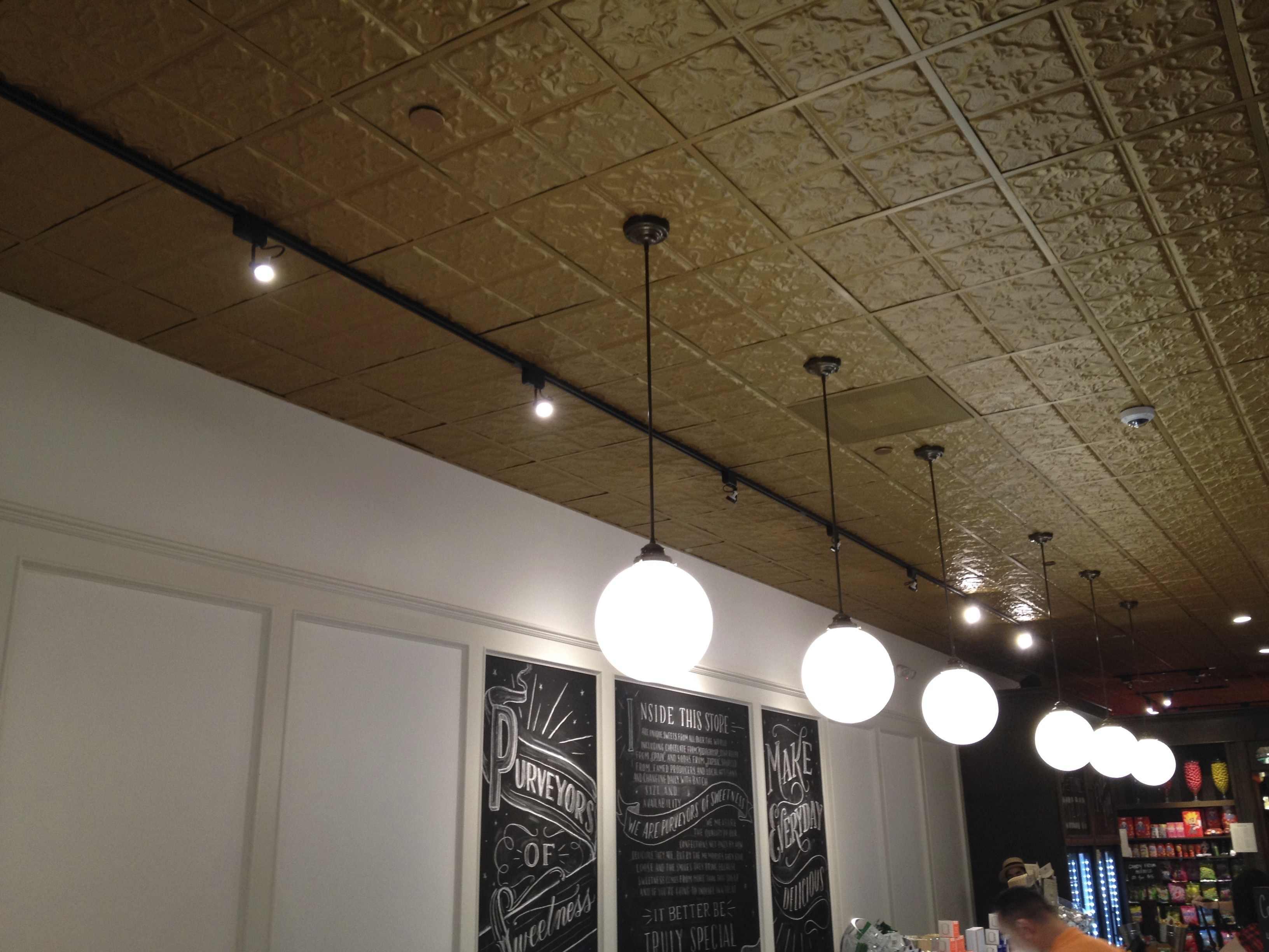 Ceiling Tile Installation