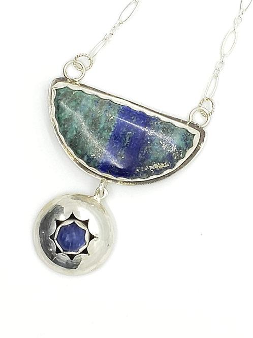 Starburst Sterling Necklace