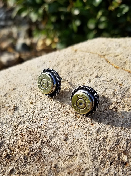 Open Range Earrings (Twisted Setting)