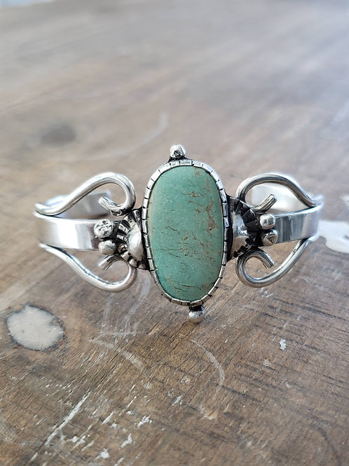 Royston Turquoise Sunburst Swirl Bracelet